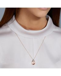 Astley Clarke - Multicolor Grey Diamond Morganite Medium Fao Pendant - Lyst