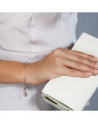 Astley Clarke - Pink Rose De France Fao Bracelet - Lyst