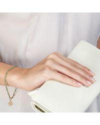 Astley Clarke - Green Emerald Aura Fine Biography Bracelet - Lyst