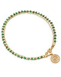 Astley Clarke | Metallic Emerald Aura Fine Biography Bracelet | Lyst