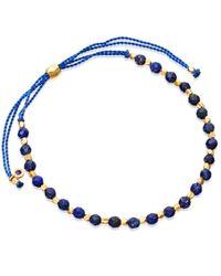 Astley Clarke | Black Lapis Skinny Biography Bracelet | Lyst