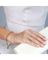 Astley Clarke | Pink Prosperity Friendship Bracelet With Pyrite & Smoky Quartz | Lyst