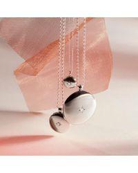 Astley Clarke - Metallic Medium Astley Locket - Lyst