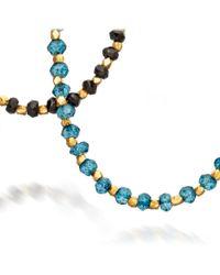 Astley Clarke - Multicolor Ocean Quartz Detail Biography Necklace - Lyst