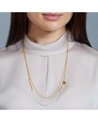Astley Clarke - Metallic Moonstone Air Element Biography Necklace - Lyst