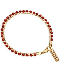 Astley Clarke | Red Labyrinth Friendship Bracelet | Lyst
