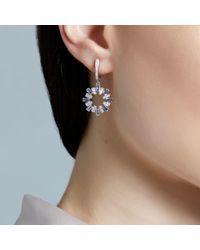 Astley Clarke - Blue Tanzanite Fao Starburst Earrings - Lyst
