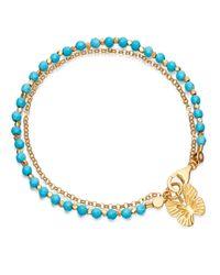 Astley Clarke - Blue Turquoise Butterfly Biography Bracelet - Lyst