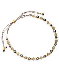 Astley Clarke - Metallic Love & Labradorite Biography Bracelet Stack - Lyst