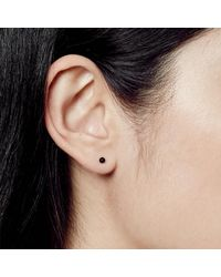 Astley Clarke - Single Black Onyx Peggy Stud Earring - Lyst