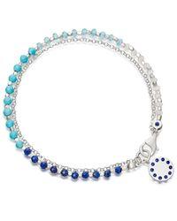 Astley Clarke - Blue Ocean Dégradé Biography Bracelet - Lyst