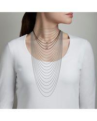Astley Clarke - Metallic Nugget Detail Biography Necklace - Lyst