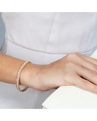Astley Clarke - Metallic Peach Blush Nugget Biography Bracelet - Lyst