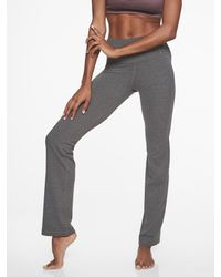 3178e13ab Athleta Powervita Straight Leg Pant in Gray - Lyst