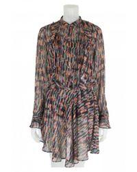 Bl-nk - Multicolor Revalio Dress Multi With Metallic Stripes - Lyst