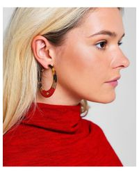 Gas Bijoux - Pink Lodge Hoop Earrings - Lyst