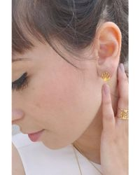 Rachel Jackson - Multicolor Hexagon Earrings - Lyst