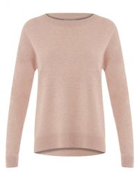 COSTER COPENHAGEN - Pink Lambswool Sweater In Rose - Lyst