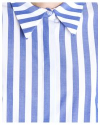 Vivetta - Blue Giapeto Striped Shirt - Lyst