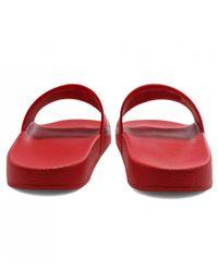HUGO - Red Timeout_slip_rb Pool Sliders - Lyst