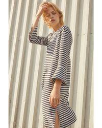 Libertine-Libertine - Gray Libertine-libertine Glaze Navy & White Dress - Lyst