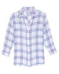 Rails - Blue Sydney Raspberry Check Shirt - Lyst