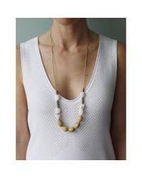 Spectrum | Multicolor Wood Necklace | Lyst