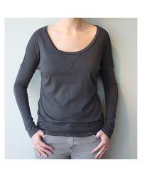 Groceries Apparel | Gray Sasha Long Sleeve Tee | Lyst