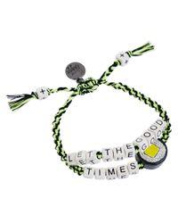 Venessa Arizaga | Metallic Let The Good Times Roll Bracelet | Lyst