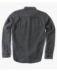 Obey - Black L/s Davin Shirt - Lyst