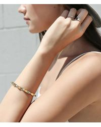 Jennie Kwon | Multicolor Three Bezel Ring | Lyst