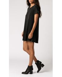 Neuw - Black Enkel Tee Dress - Lyst