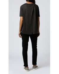 Cheap Monday | Gray Enfold Tee | Lyst