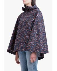 Herschel Supply Co. | Blue Poncho Vyg Poly Jacket | Lyst