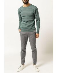 S.N.S Herning | Green Fisherman Crewneck Sweater for Men | Lyst