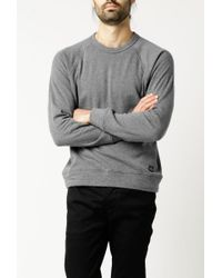 Obey | Gray Lofty Crew Sweatshirt for Men | Lyst
