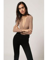 Azalea - Black Brooklyn Bodysuit - Lyst