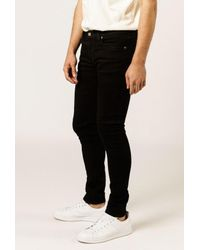 """Nudie Jeans - Black 32"""" Skinny Lin Jean for Men - Lyst"""