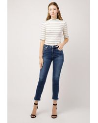 Citizens of Humanity - Blue Rocket Crop High Rise Jean - Lyst
