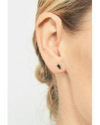 Selin Kent - Multicolor Galana Emerald Stud - Single - Lyst