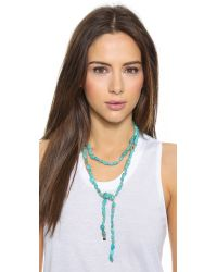 Ginette NY - Blue Fallen Sky Sautoir Necklace - Lyst