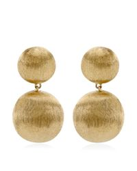 Marco Bicego - Metallic Africa Double Drop Earrings - Lyst