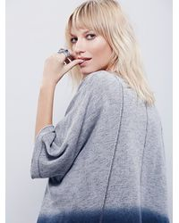 Free People | Gray Womens Rumi Pullover | Lyst