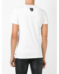 Philipp Plein - White 'medallion' T-shirt for Men - Lyst