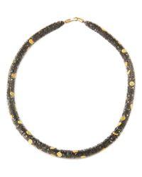 Peppercotton - Gray Emoji Necklace - Lyst