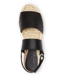 Vince - Brown Platform Espadrille Sandals - Emilia - Lyst