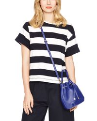 kate spade new york | Blue Cobble Hill Wyatt | Lyst