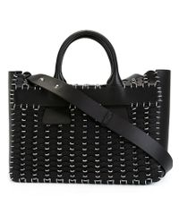 Paco Rabanne - Black Chain-mail Tote - Lyst
