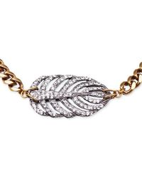 Lulu Frost - Metallic Silvertone Drift Necklace - Lyst