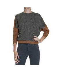 Pinko | Metallic Sweater | Lyst